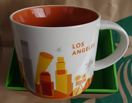 30044a1317a Amazon.com: Starbucks 2017 Los Angeles You Are Here Collection ...