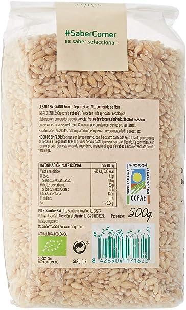 Biográ Cebada En Grano 500 g