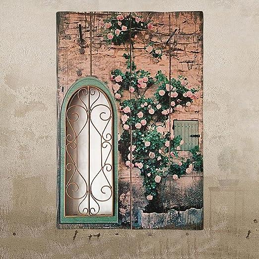 Zhaojing Pastoralen Stil Retro Holz Malerei Kreative Gefalschte