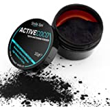 ActiveCoco Activated Charcoal Teeth Whitening Powder   30 Grams 100% Coconut Charcoal   Active Coco Teeth Whitening Booster   Sbiancamento denti con carbone attivo   dentifricio con carbone attivo   More Effective Than Strips, Gels & Most Tooth Whitening Kits