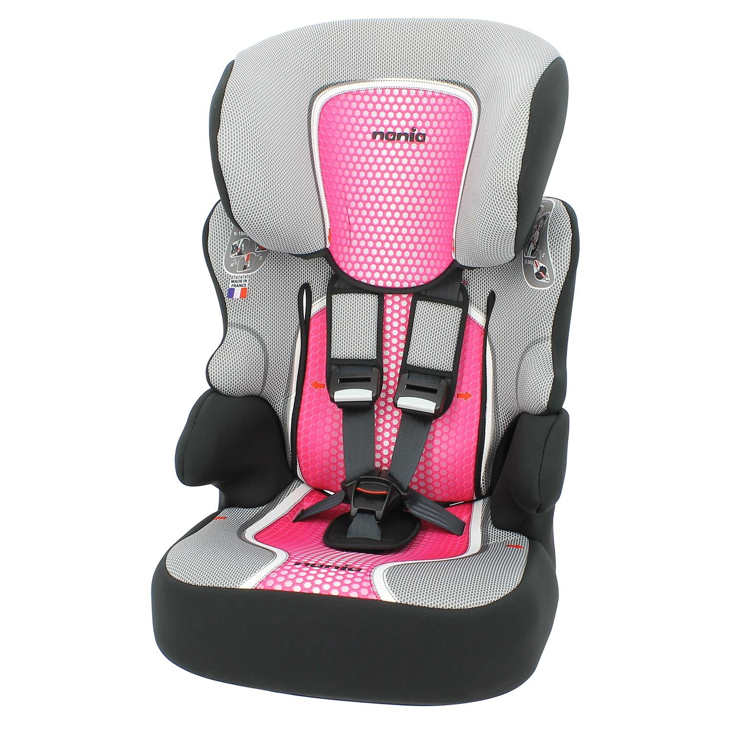 Carseat Highback Booster with harness - Group 1/ 2/3