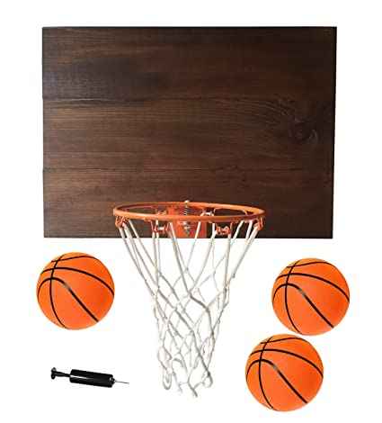 e751eb5ab10 Amazon.com   Planter Pros Indoor Basketball Wood Backboard