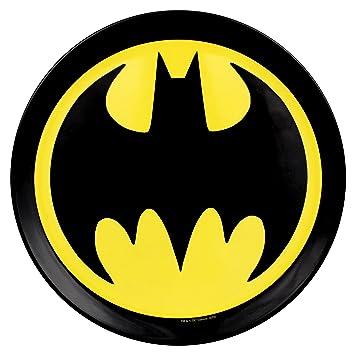 Buy (Set/4) DC Comics Batman Melamine Plates - Superhero Logo Dinnerware Pack Online at Low Prices in India - Amazon.in  sc 1 st  Amazon.in & Buy (Set/4) DC Comics Batman Melamine Plates - Superhero Logo ...
