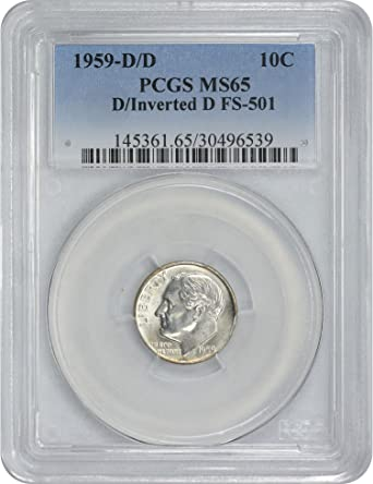 1959-D Roosevelt Dime   Choice to Gem Uncirculated Free Shipping