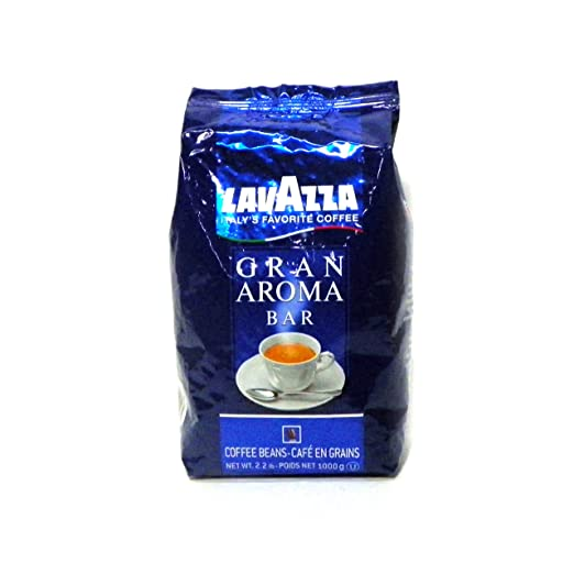 Grand Aroma Bar Lavazza Coffee Beans Book Cover
