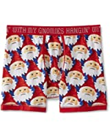 MJC SF Joe Boxer Men's Christmas Boxer Briefs - My Gnomies