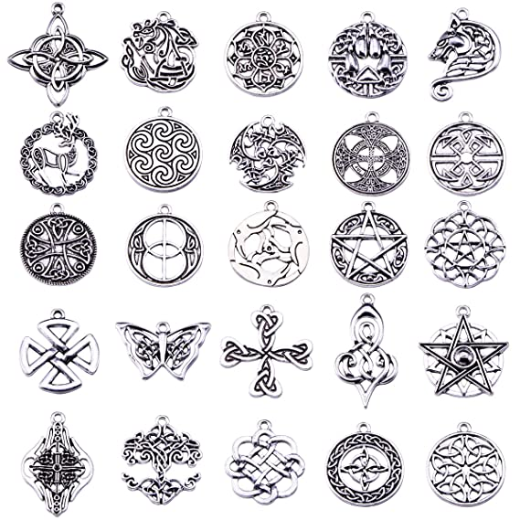 Amazon Celtic Irish Knot Charms For Jewelry Making Pack Of