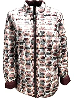 BARBARA LEBEK Jacke mit Kapuze Größe 50, Farbe beige: Amazon