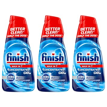 Amazon.com: Finish Max en 1 detergente concentrado de gel ...