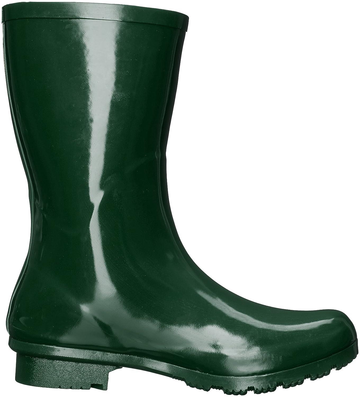 Roma Boots Women's Emma Mid Rain Boots B01L2WOHHG 9 B(M) US|Green