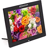 XElectron® 15 Inch HD Ready Digital Photo Frame With Fully Functional Remote (Black)