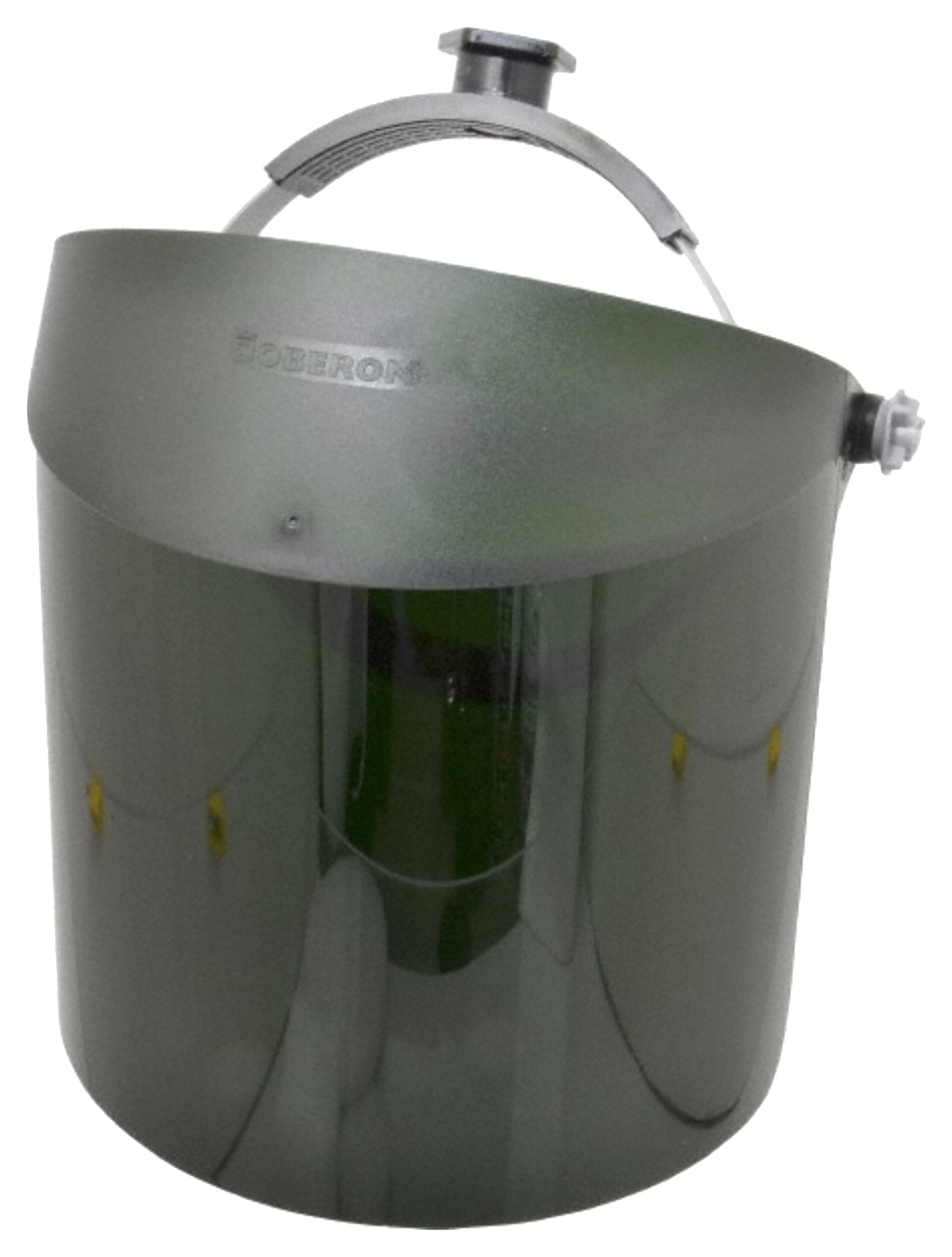 Shade 5 Gas Welding Green Face-Fit Faceshield by Oberon Company