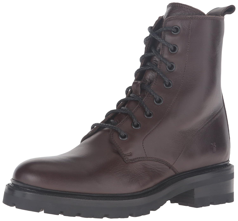 FRYE Women's Julie Combat Boot B0193ODBBS 7.5 B(M) US|Chocolate