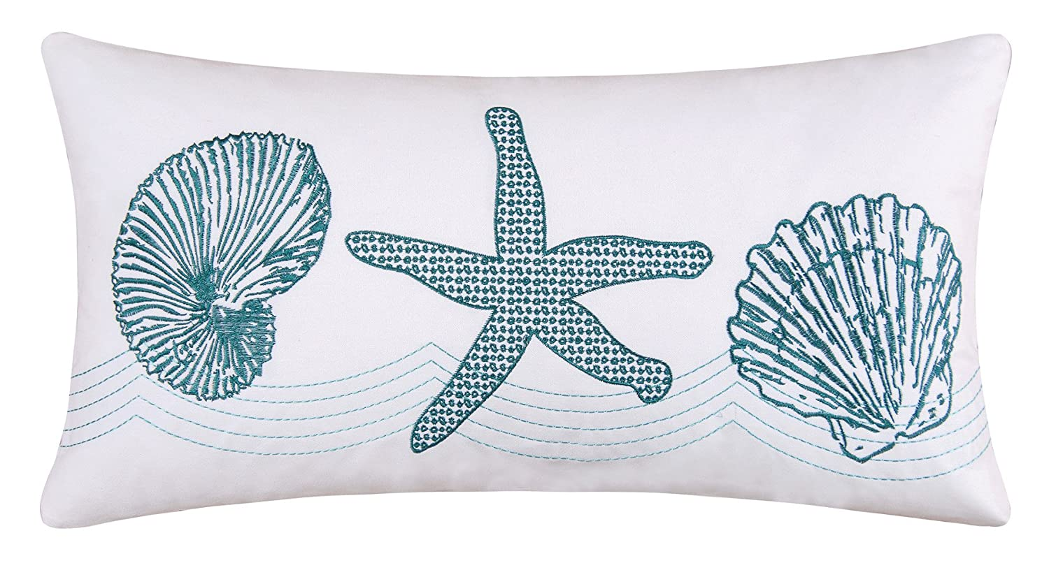 C & F Enterprises Cora Blue Boudoir Pillow