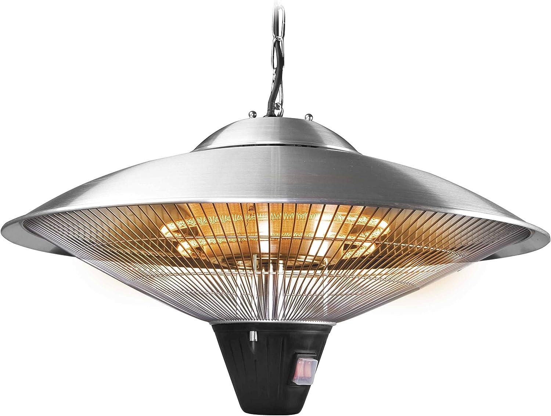 Lacor - 69421 - Lampara/Calentador eléctrico 2100w 60cm