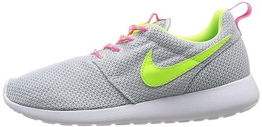 bbdd2cb468387 Nike Roshe Run Grey Youths Trainers 5.5Y US