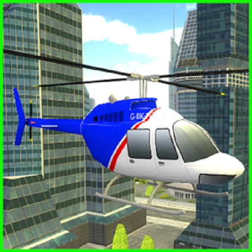 City Helicopter Simulator Game ()
