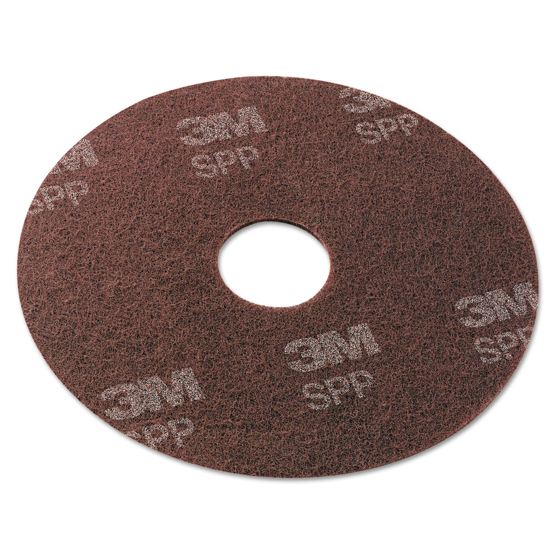 Scotch-Brite SPP17 Surface Preparation Pad, 17'' Diameter, Maroon (Case of 10)