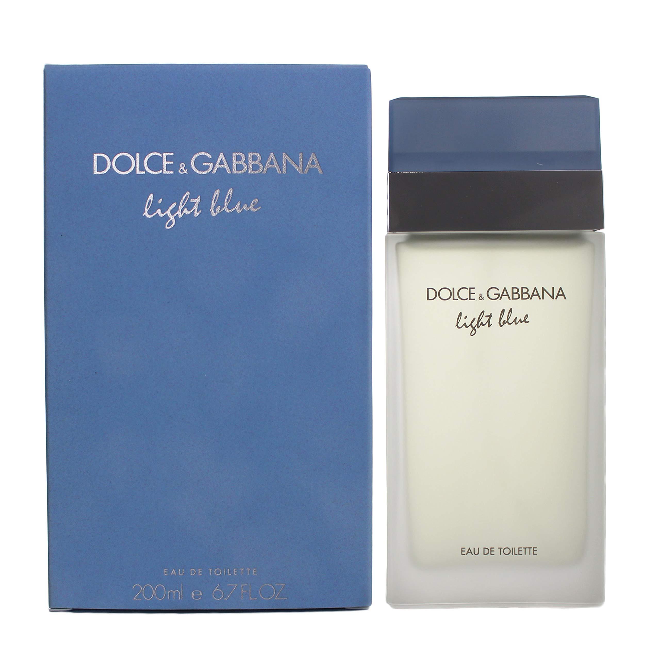 Dolce & Gabbana Women's Eau De Toilette Spray, Light Blue, 6.7 Fl. Oz (Pack of 1)