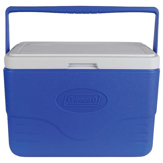 Coleman 28-Quart Cooler With Bail Handle, Blue best coolers