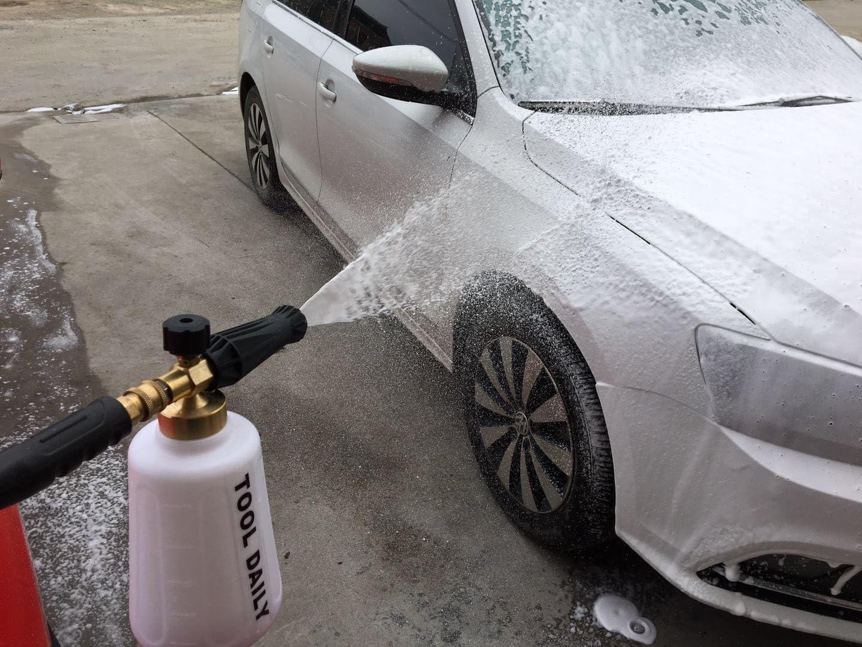 Tool Daily Lanza de Espuma de Nieve Ajustable para Lavadora a ...