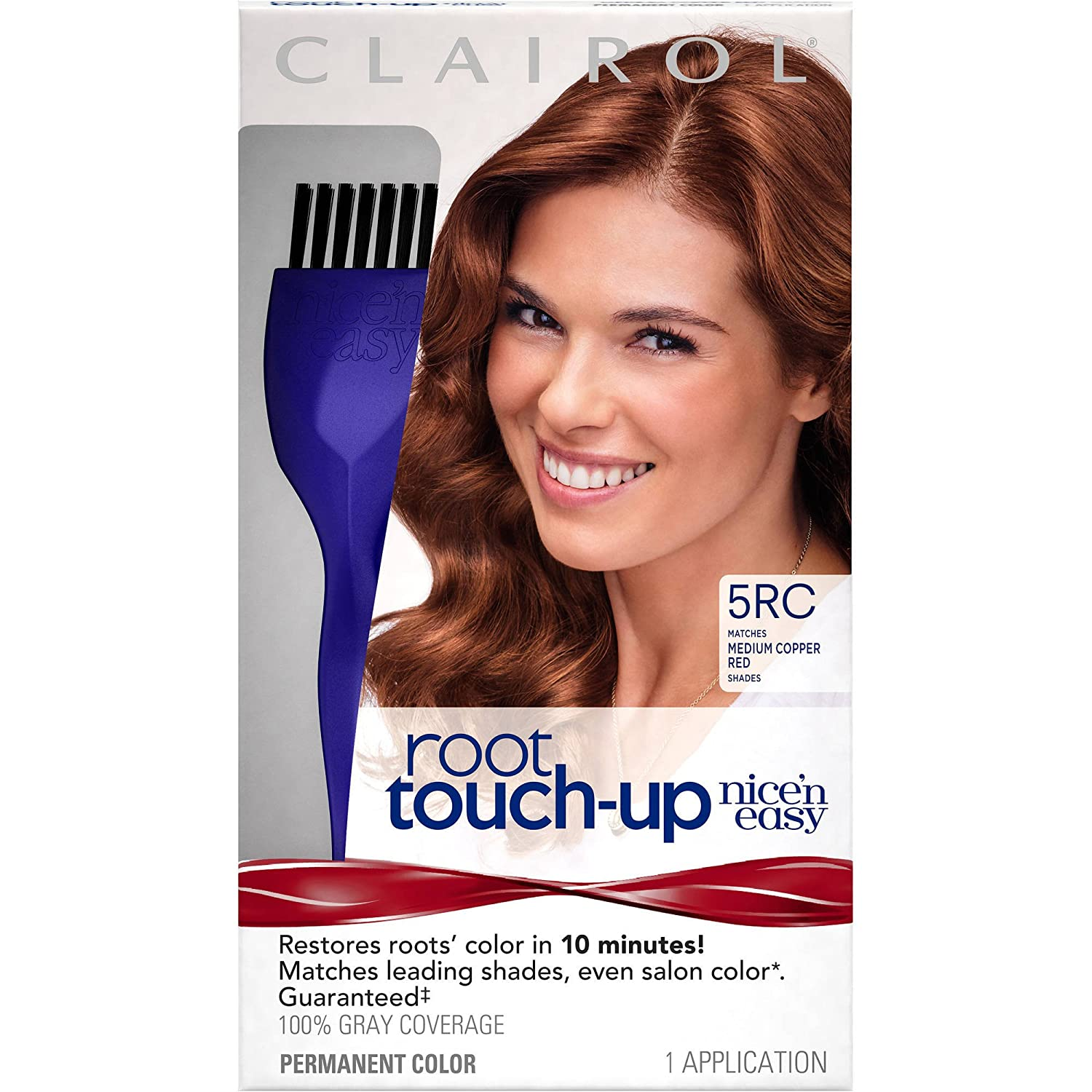 Buy Clairol Nicen Easy Root Touch Up Permanent Hair Color 5rc