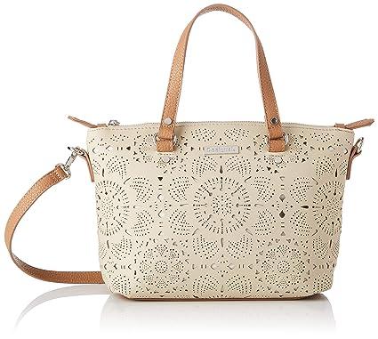 Desigual - Bag Cronos Gela Women, Bolsos bandolera Mujer, Blanco (Crudo), 10.5x22x25 cm (B x H T): Amazon.es: Zapatos y complementos