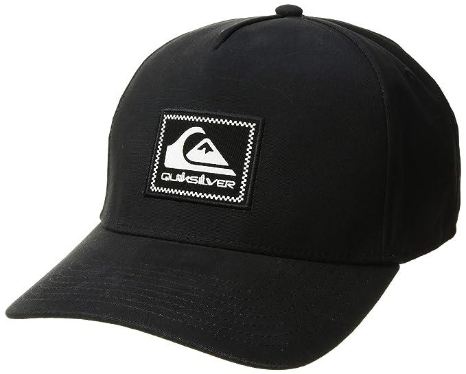 81f0be5025ef65 Amazon.com: Quiksilver Men's Tommy Momma Trucker HAT, Black 1SZ ...