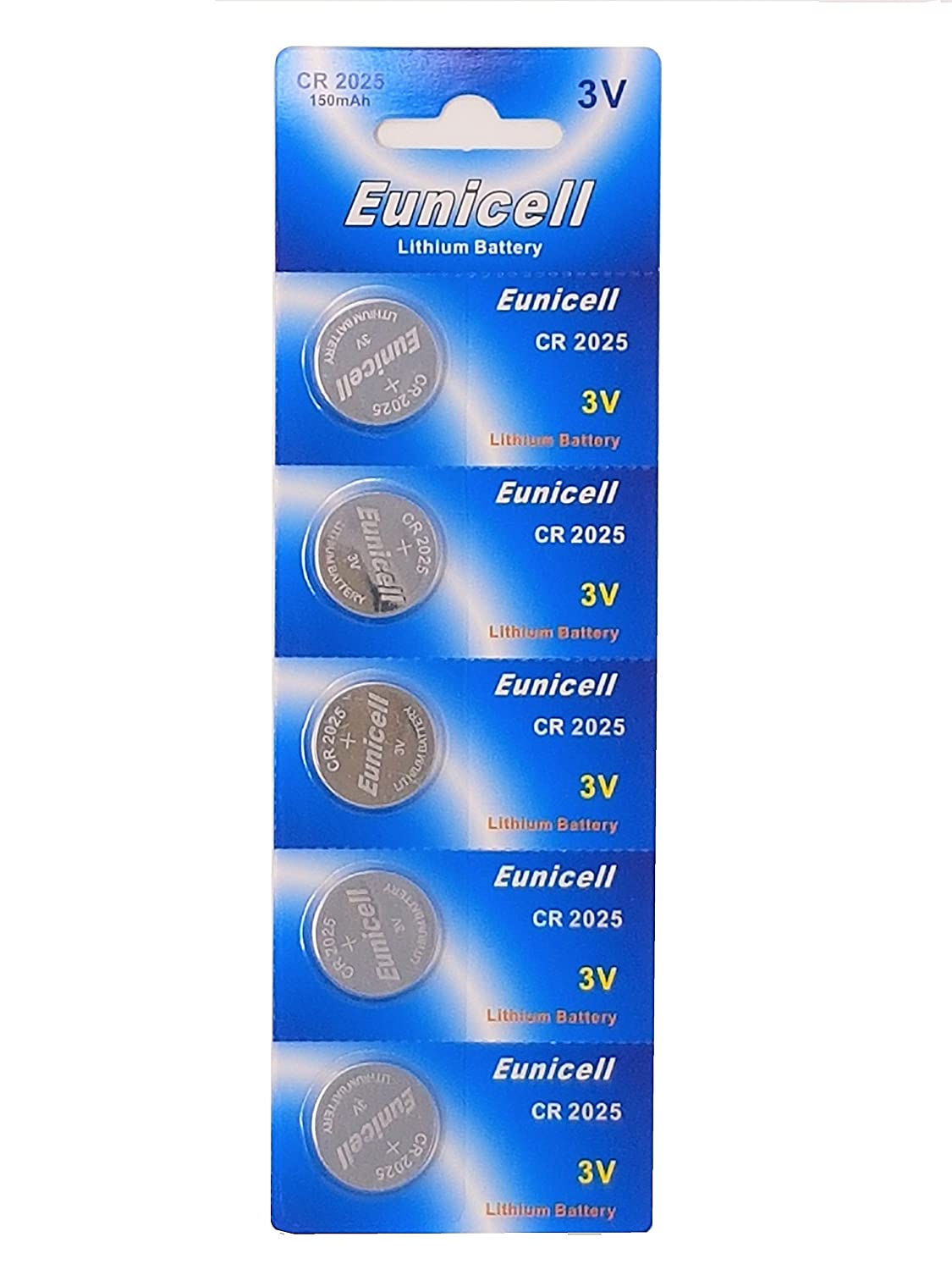 20 x Eunicell CR2025 3v Lithium Button Cell Batteries Camelion 5 x CR2025 Eunicell
