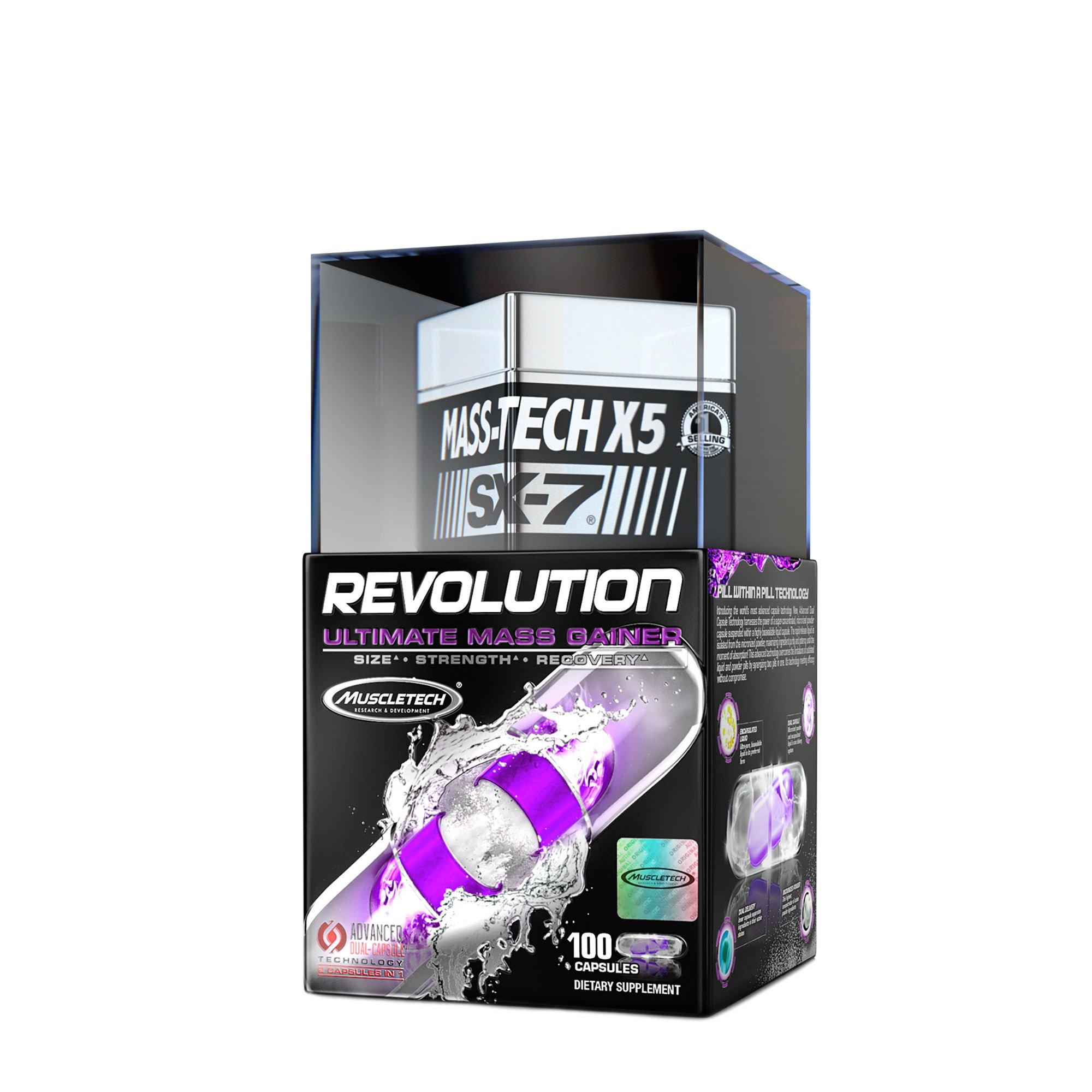 MuscleTech Mass-Tech X5 XS-7 Revolution