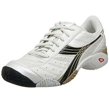 d41cef1dd9674 Diadora Men's Speed Star Tennis Shoe, White/Black, 6.5 M: Buy Online ...