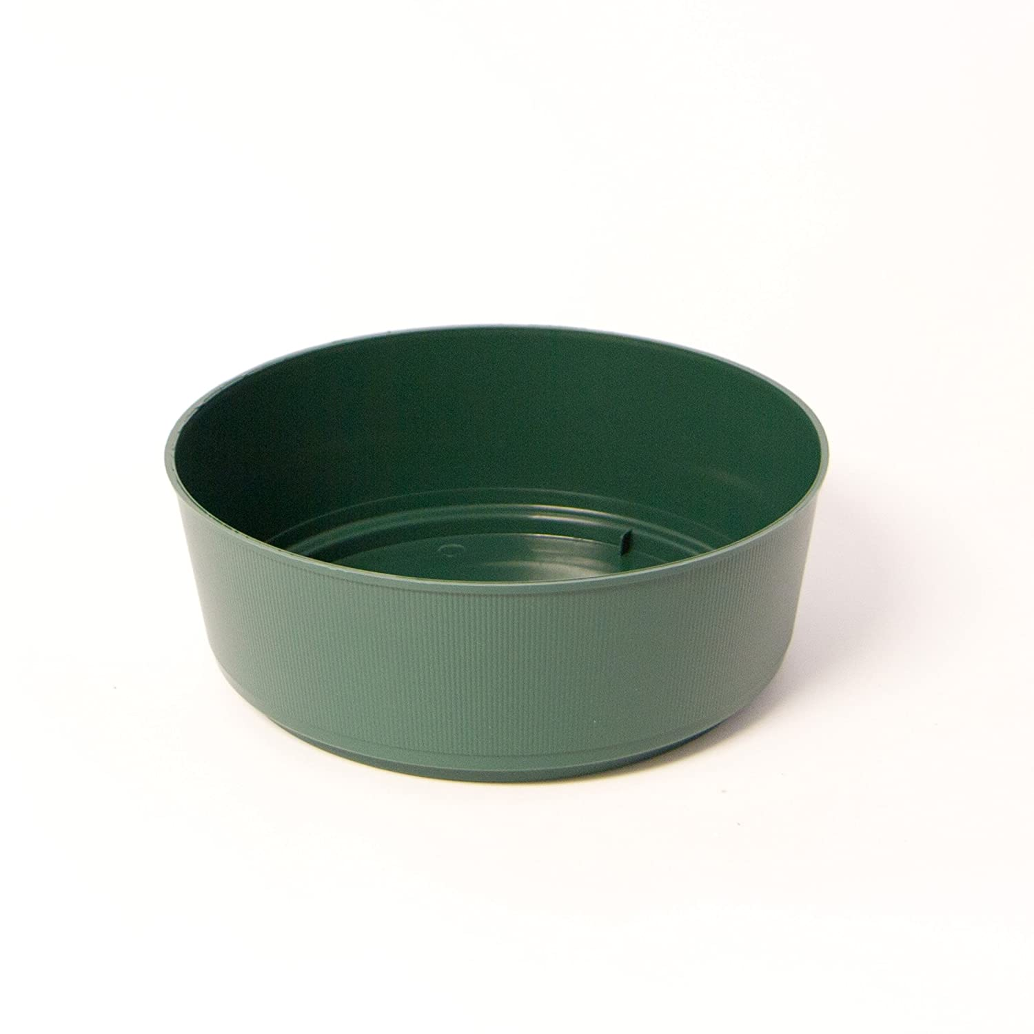 Green Junior Bowl for Cyclinder Floral Foam Qty 25