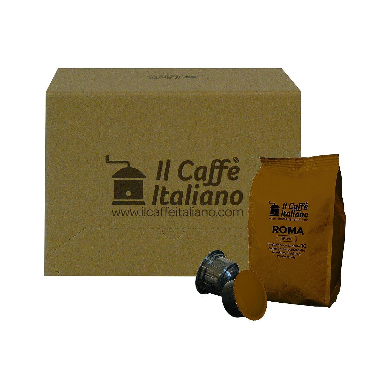 100 Cápsulas de Café compatibles Caffitaly - Mezcla Roma - Caffè italiano - FRHOME: Amazon.es: Alimentación y bebidas