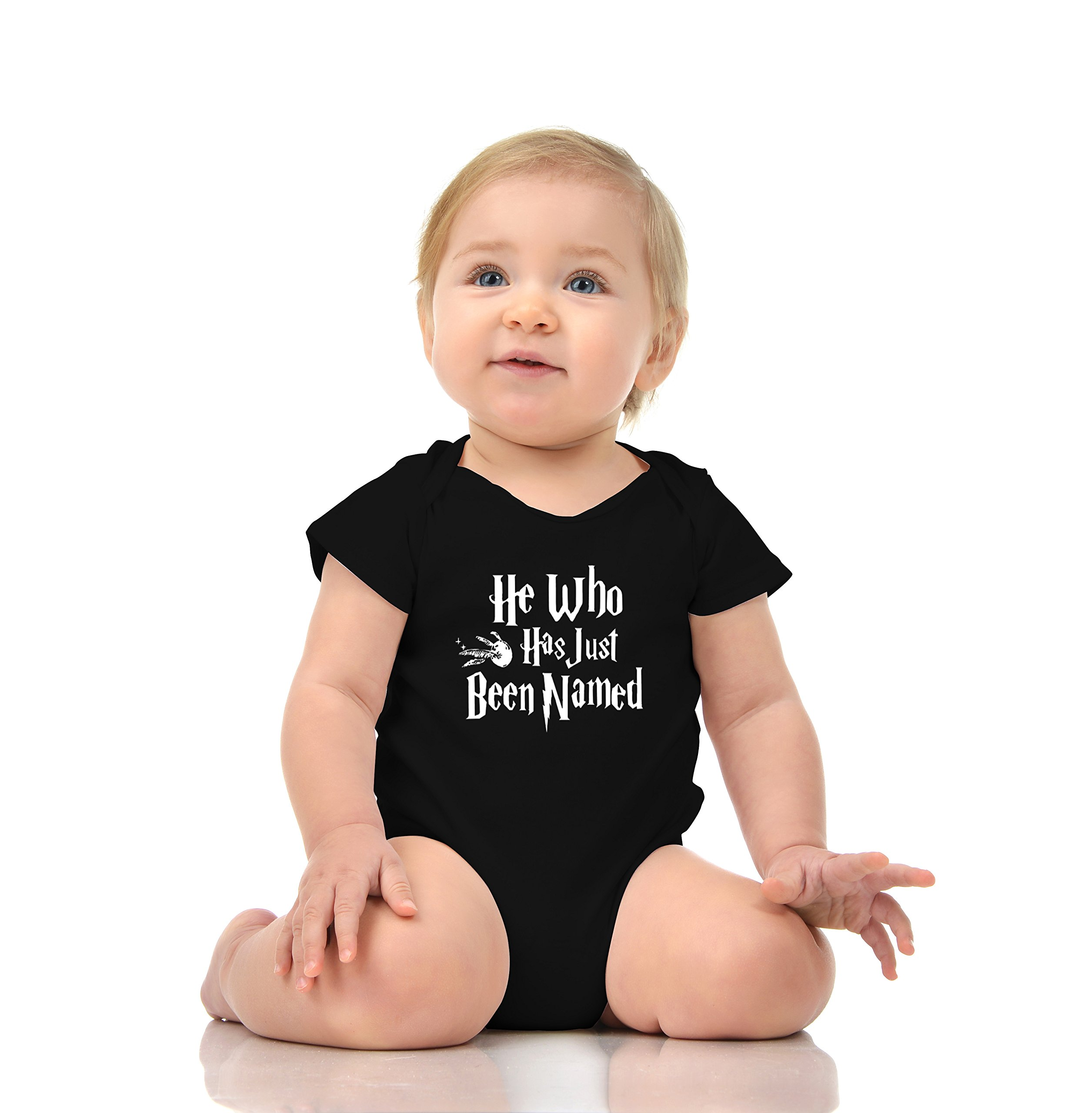 Unisex Cotton Romper Baby Bodysuit He Who Has JUST BEEN NAMED