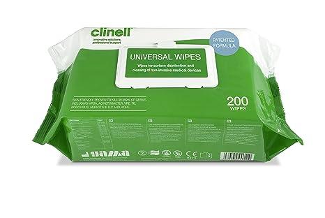 Clinell – gcw200 universal Higienización Toallitas (200 unidades)
