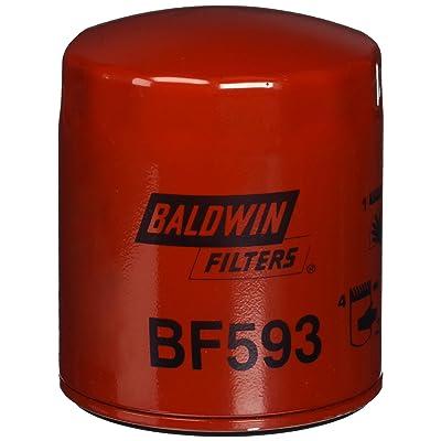 Baldwin BF593 Heavy Duty Diesel Fuel Spin-On Filter: Automotive