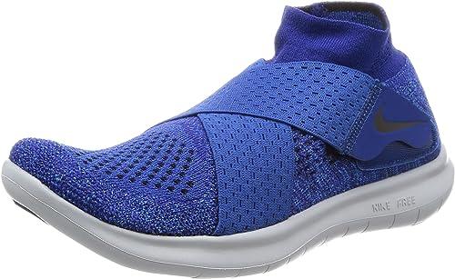 Nike Damen W Free Rn Motion FK 2017 Traillaufschuhe, Blau