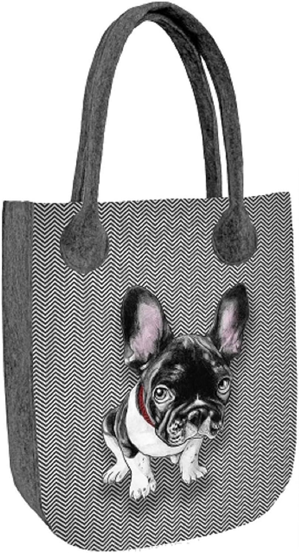 CITY CHESTER Dog Felt Bag