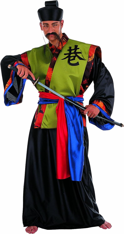 Limit Sport - Disfraz de samurái dorado, para adultos, talla L ...