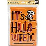 Hallmark Halloween Greeting Card Assortment (6 cards, 6 envelopes Skeleton)