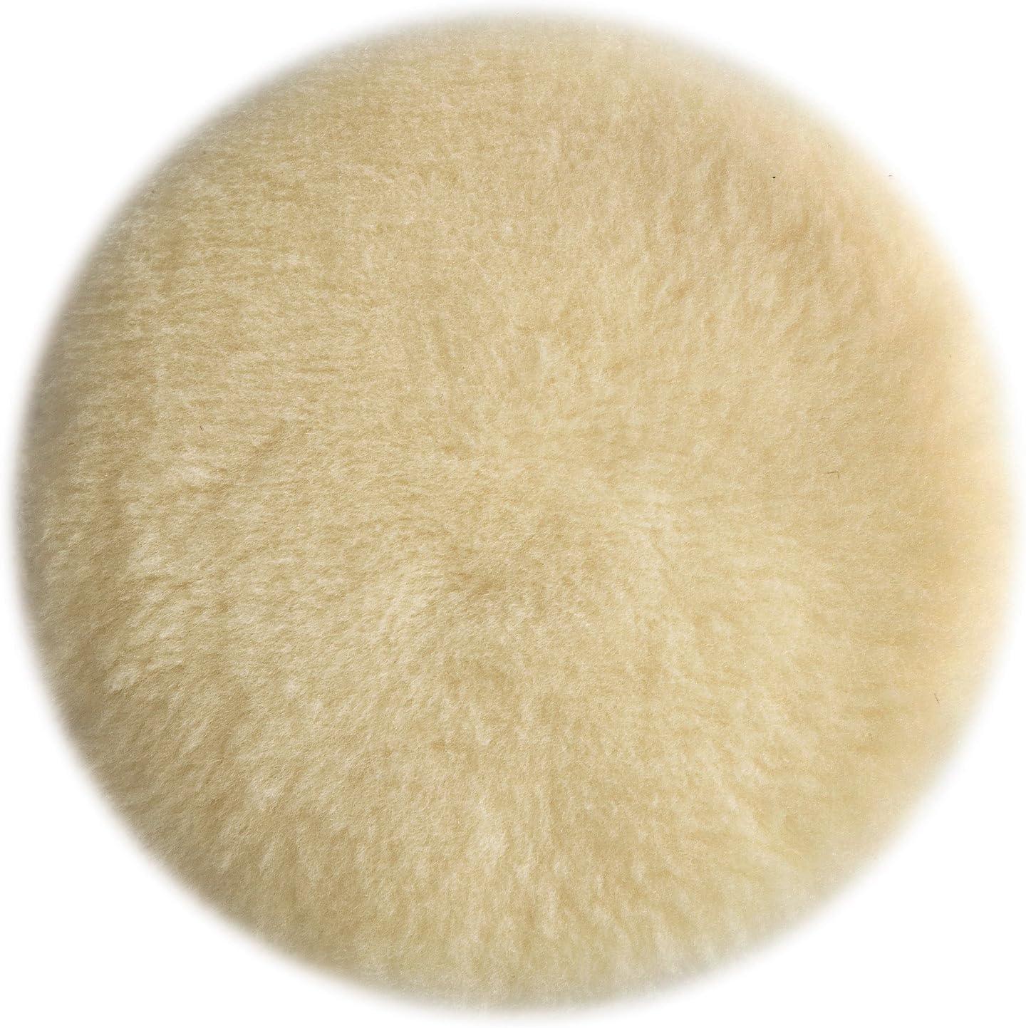 B00004Y774 PORTER-CABLE 18007 6-Inch Lambs Wool Hook and Loop Polishing Pad 81RaMJaa2xL