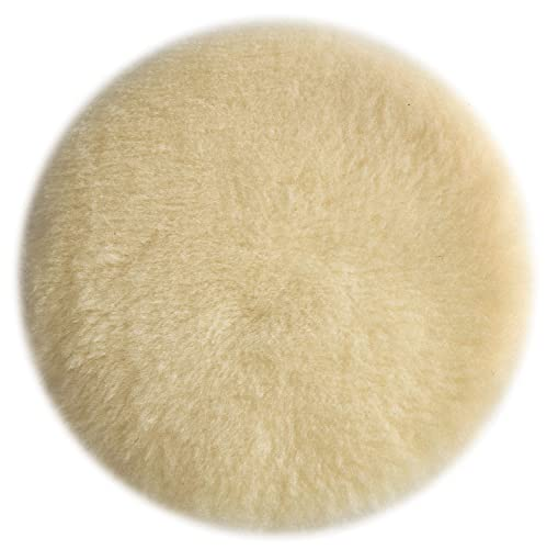 Porter-Cable 18007 6-Inch Lambs Wool Hook and Loop Polishing Pad