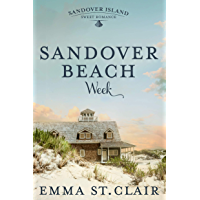Sandover Beach Week (Sandover Island Sweet Romance Book 2)