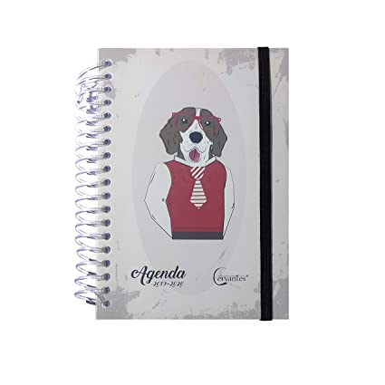 Agenda Escolar 2019-2020 con tapa plastico español (Perro)