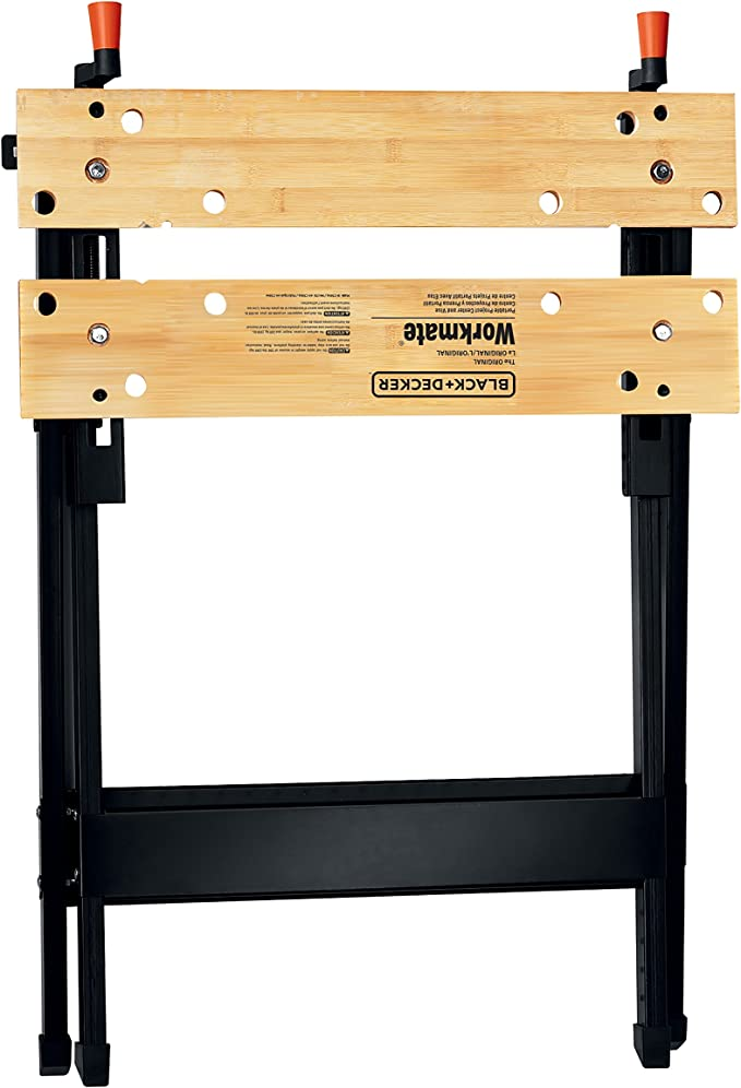 Best Sawhorses: BLACK + DECKER WM125 Workmate 125 340-Pound Capacity Portable Work Bench