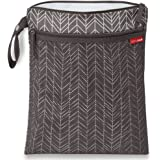 Skip Hop Grab & Go Wet/Dry Bag, Grey Feather