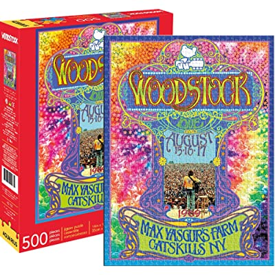 Woodstock- Collage 500 pc Puzzle: Toys & Games