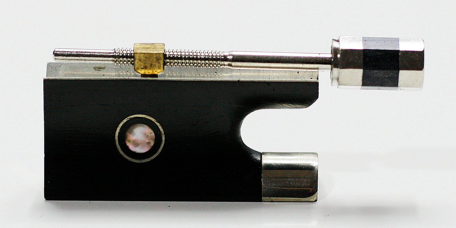 Full-size Violin Bow Ebony Frog and Screws