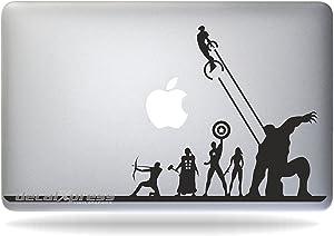 Avengers Iron Man Captain America Thor Hulk Macbook Air-pro 11 13 15 17 Stickers,decal