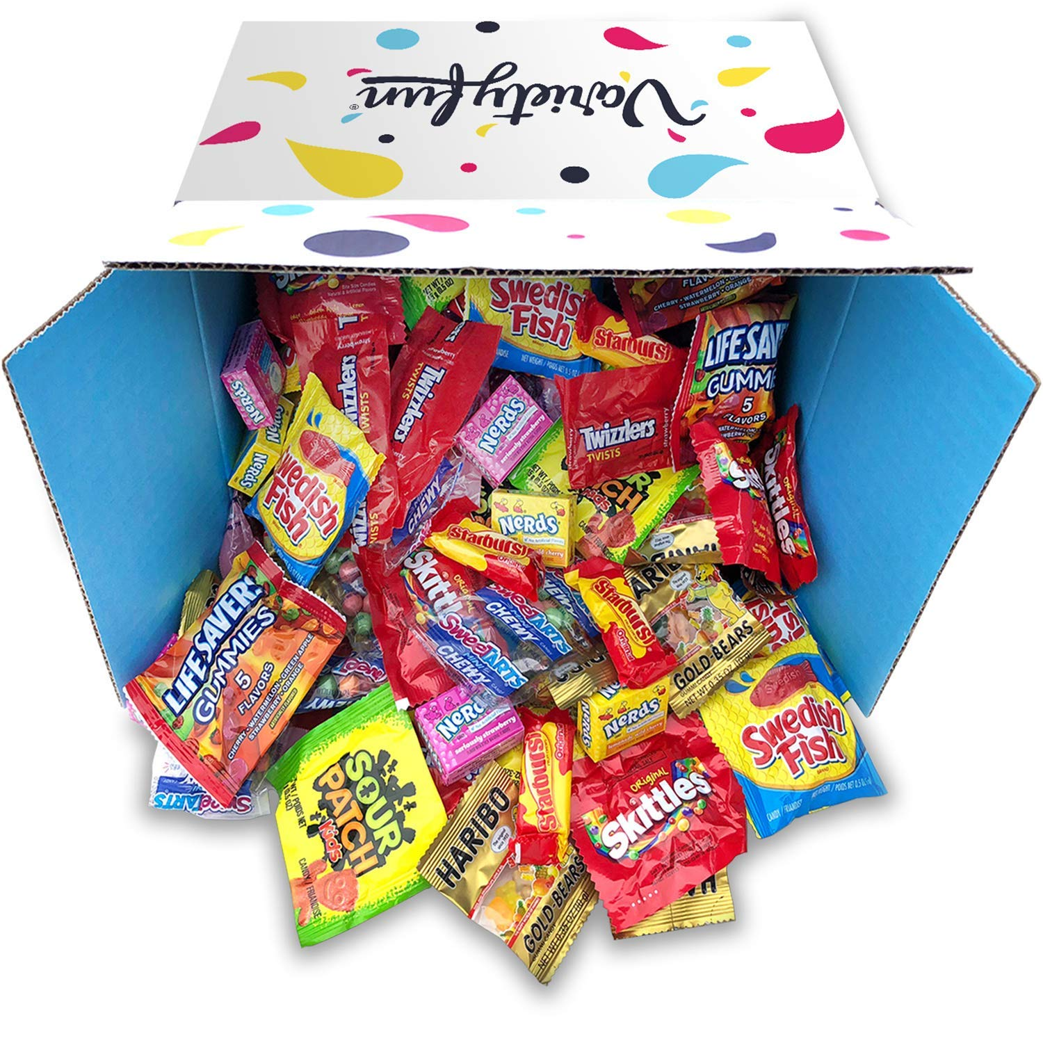 Candy Bulk Variety Pack Mixed Assortment by Variety Fun (288 oz) by Custom Varietea